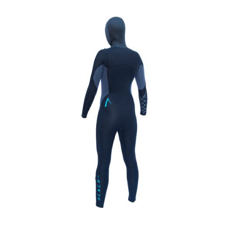 Ember 454 Hooded Women's Chest Zip Wetsuit